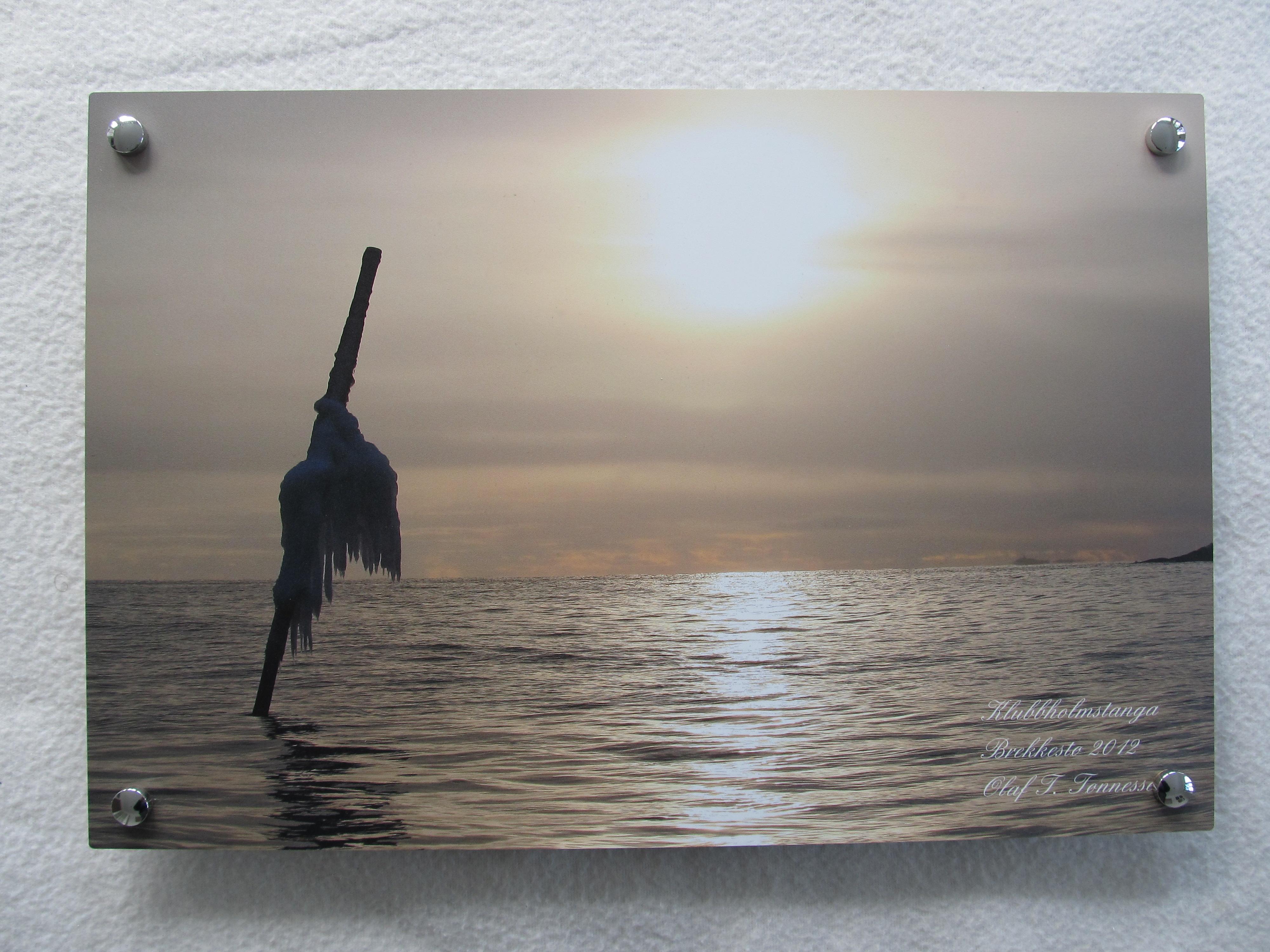 Bilder på aluminiumsplate